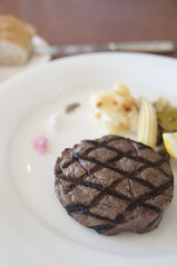 Grilled Tenderloin Steak, The Grill, ANA Intercontinental Manza Beach Resort