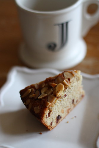 A Simple Almond & Cherry Cake