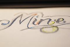 Mine K&A (Alessandro Pier) Tags: mine matita disegno scritta alessandrosofia