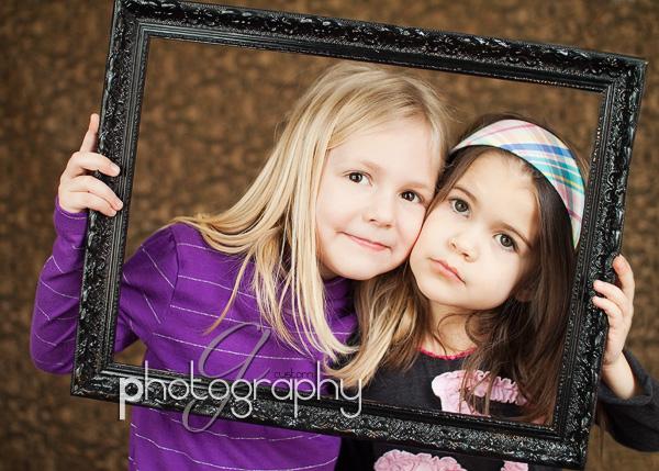 Natalie & Campbell framed!
