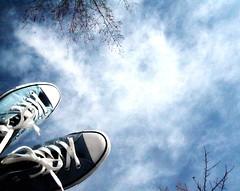 Kicks the color of the sky... (twnklmoon) Tags: converse chucks twnklmoon skybluekicks unofficial365day36