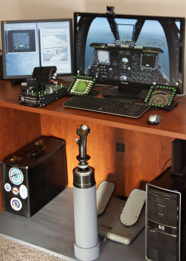 Flight Sim Joystick Mount