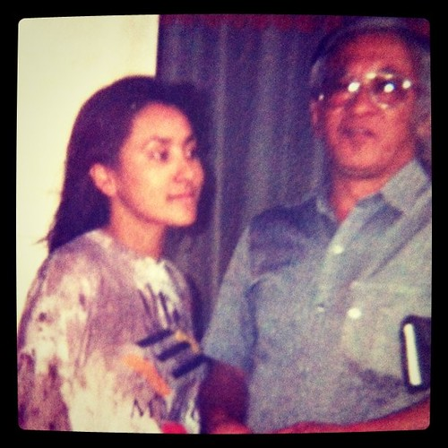 Com meu pai quando passei no vestibular #aos19