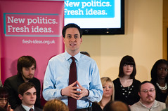 Ed Miliband - does he have any fresh ideas to win over the voters?  Image from Ed Miliband's photostream
