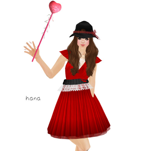 :pesca:red dress gift(free)