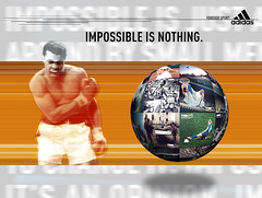 "Impossible is nothing Adidas Visual • <a style=""font-size:0.8em;"" href=""http://www.flickr.com/photos/10555280@N08/5427803625/"" target=""_blank"">View on Flickr</a>"