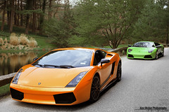 Lamborghini (Alex Weber) Tags: street orange verde green alex car speed canon photography photoshoot fast super spot exotic lp 7d 28 ithaca panning lamborghini rare find supercar weber gallardo murcielago 18mm lambo 560 640 lp640 lp560