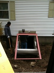 cutting siding to fit bulkhead top
