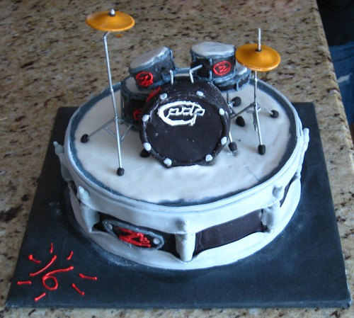 Tys Drum Birthday Cake