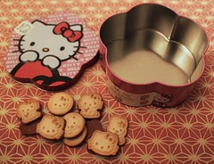 Hello Biscuits (crayonmonkey) Tags: food cute hellokitty sanrio kawaii biscuits confectionery kittychan