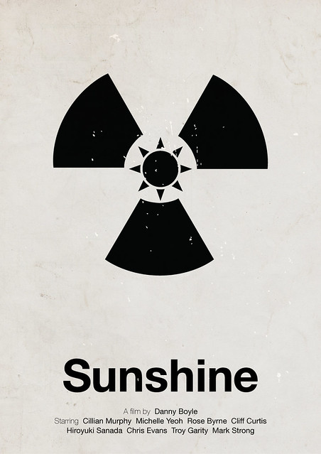 Sunshine pictogram movie poster