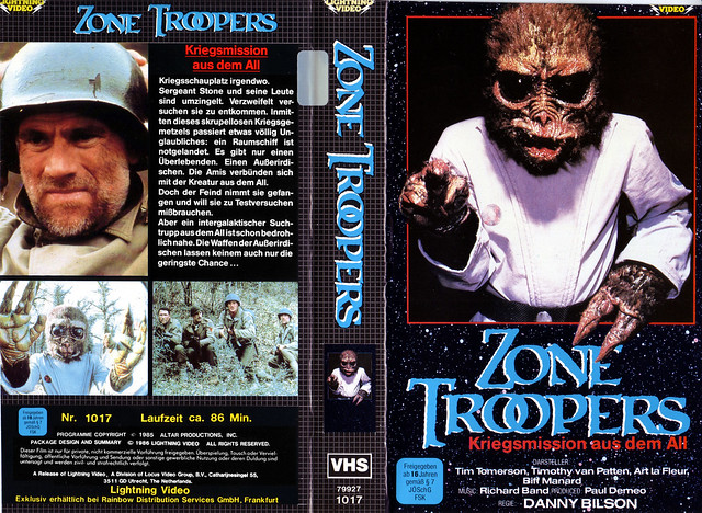 Zone Troopers (VHS Box Art)