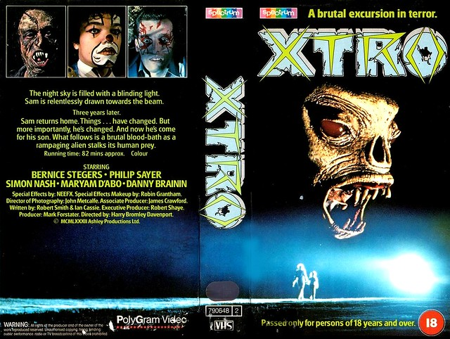 X-TRO (VHS Box Art)