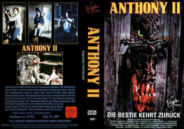 Anthony 2 (VHS Box Art)