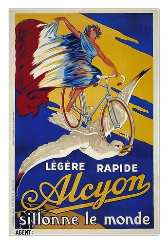 004--Carteles de bicicletas antiguas