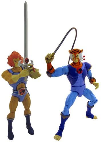 Lion O & Tygra (BANDAI)