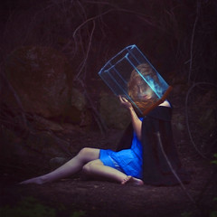 from the inside (brookeshaden) Tags: blue fish water fairytale trapped tank brookeshaden texturebylesbrumes