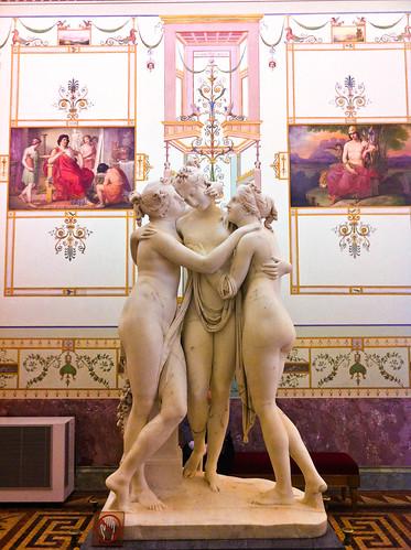 Canova's Drie Gratiën