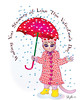 Happy Valentine's Day! (faith goble) Tags: pink friends red storm art love hat rain scarf umbrella cat hearts kid kitten artist poem photographer child friendship affection boots kentucky ky buttons faith card poet writer february showers bonnet raincoat greeting vector bowlinggreen valentinesday verse adobeillustrator 2011 youngatheart goble faithgoble gographix faithgobleart