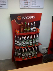 Bacardi POP Display using X-Board