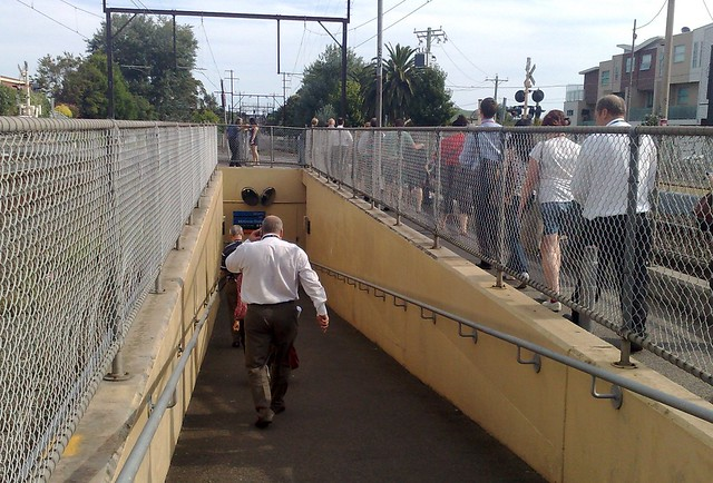 Mckinnon station underpass