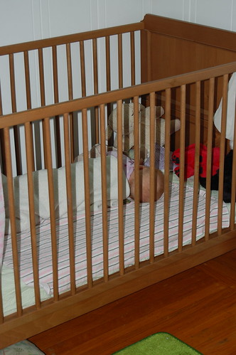 First nap in a crib
