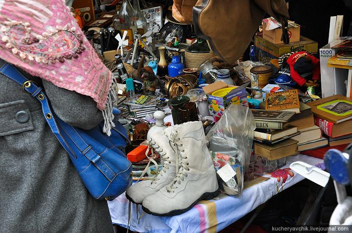 At the Mauerpark flea-market in Berlin