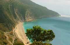 Myrtos Kefalonia... (Ellinas_n*) Tags: sea summer beach greek islands greece kefalonia cephalonia myrtos ionian greeklandscapes