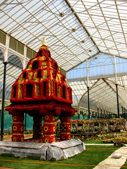 Tower in Glass (phil.shen.2020) Tags: flowers india house glass garden bangalore kempegowda lalbaghgardens