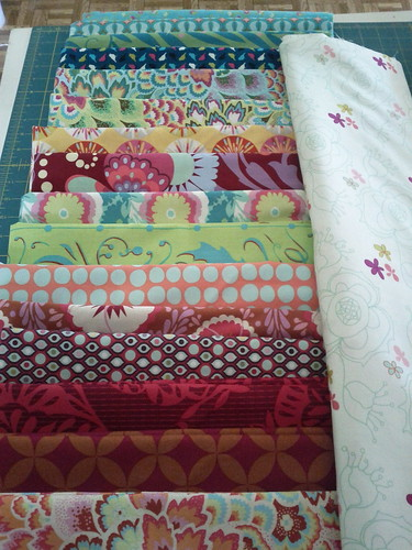 mystery quilt fabric