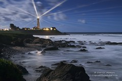 Pigeon Point Lighthouse (Darvin Atkeson) Tags: ocean california travel vacation lighthouse beach night point faro coast surf pacific pigeon explore coastal fresnel farol teach phare leuchtturm  darvin morska    latarnia  atkeson  solais darv vitinn  liquidmoonlightcom