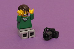 [171/365] Skipped... (pasukaru76) Tags: camera photographer lego missed skipped minifig365