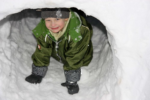 Snow castle!