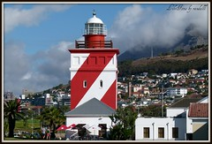 landmark light house in Moulle Point  - Sea Point (WITHIN the FRAME Photography(4 Million views tha) Tags: lighthouse capetown beacon seapoint fz100