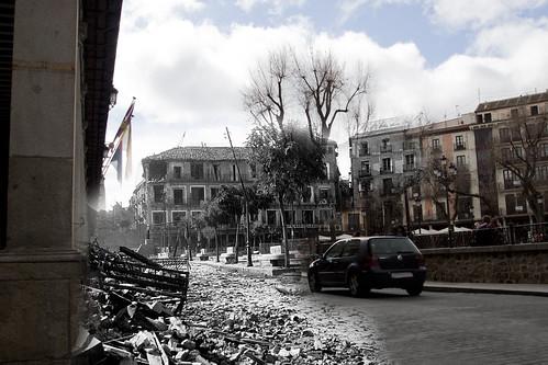 Plaza de Zocodover, verano de 1936