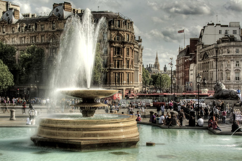 London. Trafalgar Square. Londres