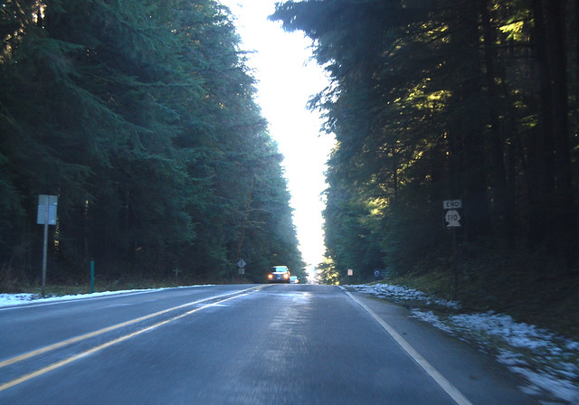 SR 110 @ Olympic National Park