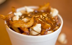 Poutine! (Lazy_Artist) Tags: food cheese yummy gravy fries gatineau curds pataterie hulloise