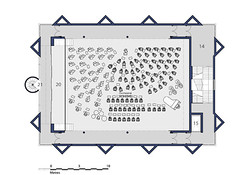 Second Floor Plan Auditorium Layout - 120 Piece Symphony Orchestra