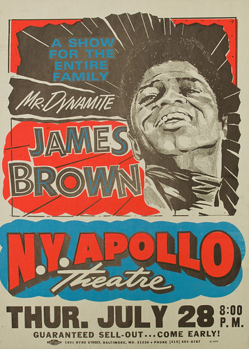 Poster_Mr Dynamite James Brown