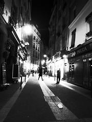 st michel, paris. ((marcusp)) Tags: travel blackandwhite bw paris france europe highcontrast grdigital franca ricoh grd3 ricohgrd3grdigital