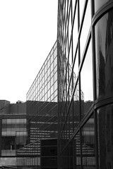 (Lizzie Staley) Tags: building tower lines architecture grid drawing officeblock streetphotographynowproject