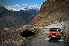 4 x 4 Expidetion (Iqbal.Khatri) Tags: road travel pakistan mountains expedition drive high jeep 4x4 altitude off adventure explore journey glaciers destination roads exploration iqbal naraan hieght khatri travelandplaces gettyimagespakistanq2
