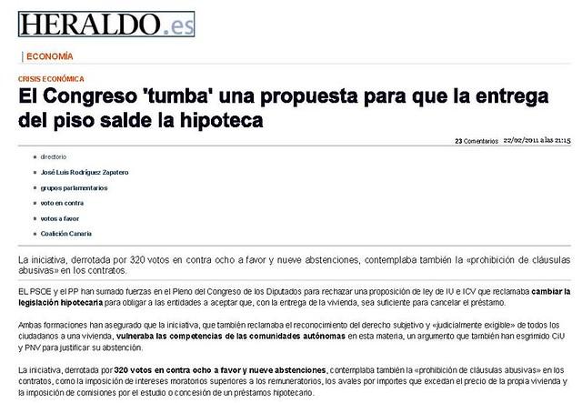 Heraldo - Hipoteca