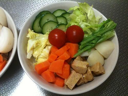 朝食サラダ(2011/2/24)