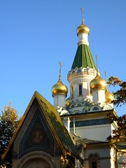 The Russian Church ( ) in Sofia (Frans.Sellies) Tags: church sofia bulgaria orthodox bulgarie orthodoxchurch russianorthodox bulgarije bulgarien  bulharsko bulgaristan             p1280757