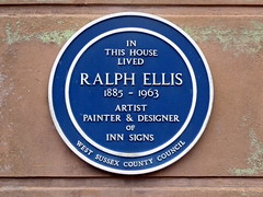 Photo of Ralph Ellis blue plaque