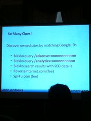 John Andrews Presentation at SearchFest 2011