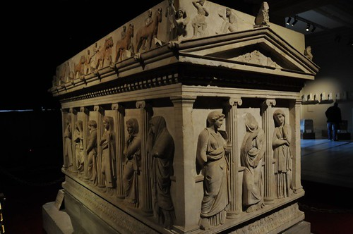 Sarcophagus of the Mourning Women