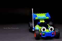 Project Looking Glass - Day 1 (iconicsummer) Tags: car racecar nikon lego toystory onelight d90 projectlookingglass borderfx kthai